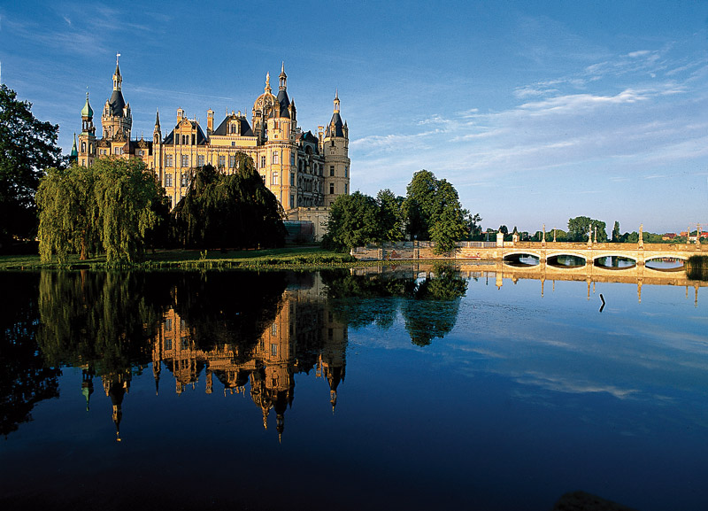 Schwerin Castle, probably the prettiest seat of parliament in Germany