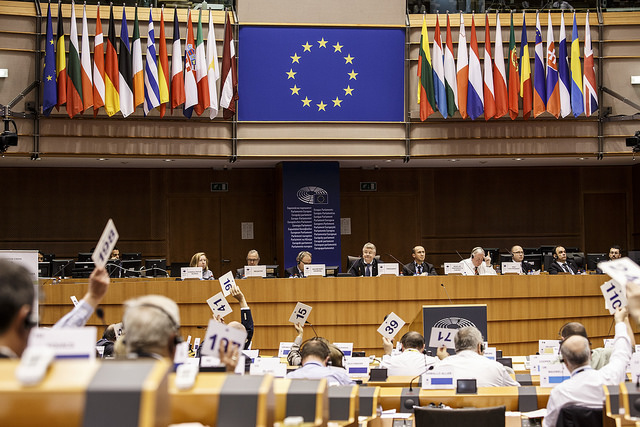 Plenary session of the European Committee of the Regions